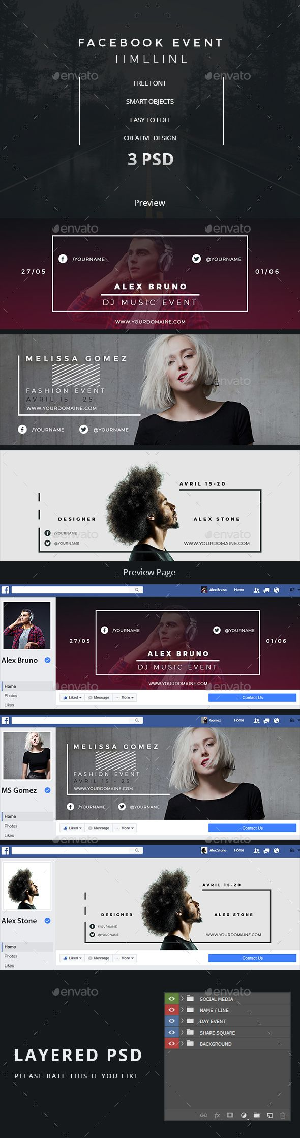 Best 25 facebook cover design ideas on pinterest facebook facebook event timeline pronofoot35fo Choice Image