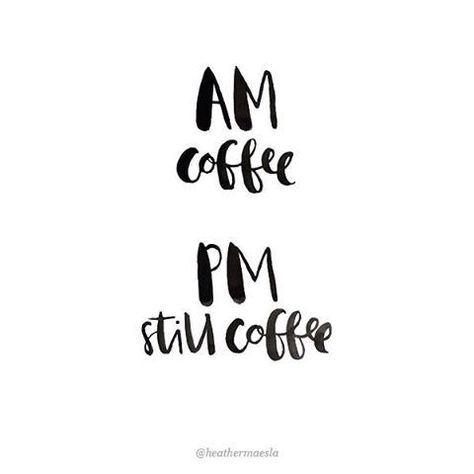 Still coffee.