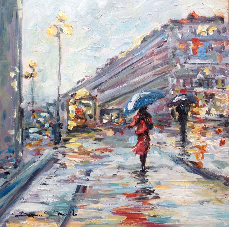 Extrêmement Les 39 meilleures images du tableau Urbans landscape Peintures  BL77