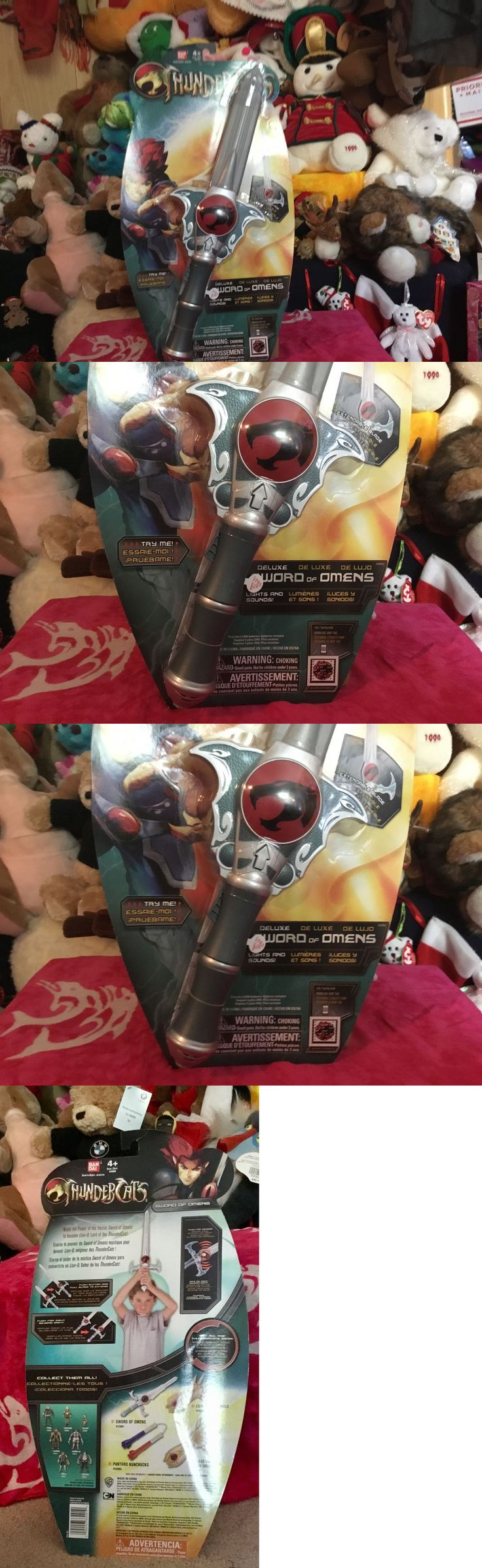 Other TV Movie Character Toys 2622: Thundercats Sword Of Omens Deluxe New Bandai Lights Sounds 25 Blade Roleplay -> BUY IT NOW ONLY: $32 on eBay!
