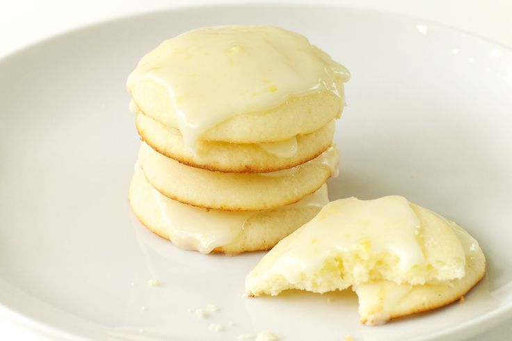 Lemon Ricotta Cookies with Lemon Glaze Recipe by Giada De Laurentiis @gdelaurentiis