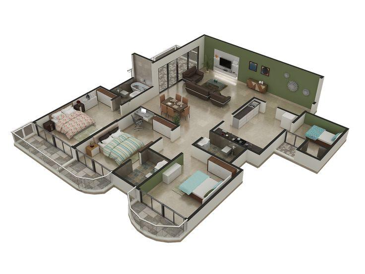 Rayvatengineering 3d Floor Plan Architectural PlansHome