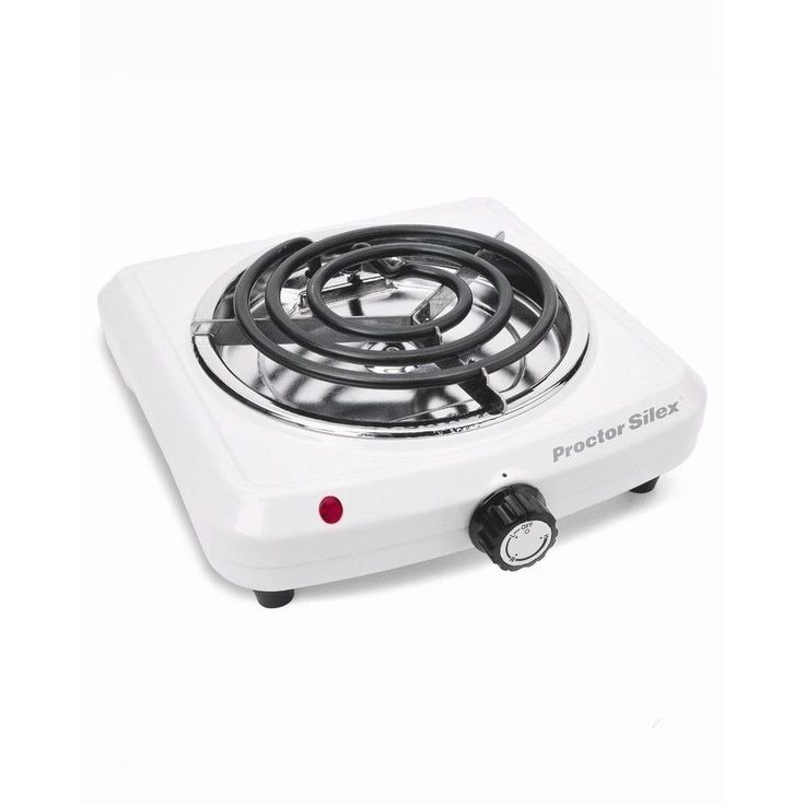 It is even suitable for small apartments and dorm rooms. Adjustable temperature keeps you in control. Portable single burner with 1000 watts of power. 4-feet for stability; chrome drip pan wipes clean; slim space-saving design. | eBay!
