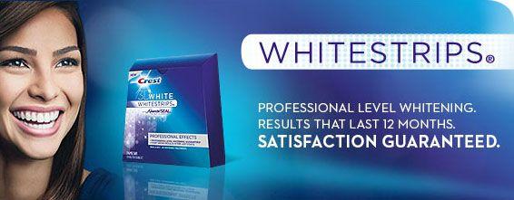 Crest Whitestrips Supreme Professtional Whitening