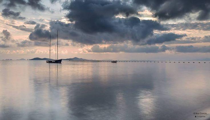 Los días de lluvia en el *Mar Menor* tienen algo muy especial <3 CARTAGENA. España. Spain.