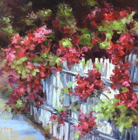 Along the Way, painting by artist Nancy Medina