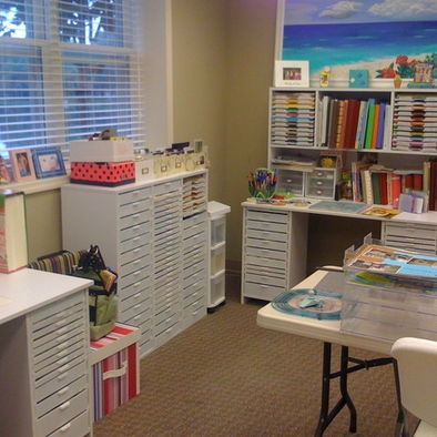 14 best images about scrapbook room ideas on Pinterest | Crafting ...