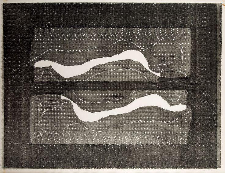 Alena Kučerová, Odpočinek, 1967, 47 x 61,5 cm