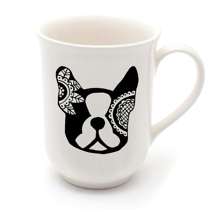 Best Ceramic Coffee Mugs - Mandala Bostie Mug - Sugar and ...