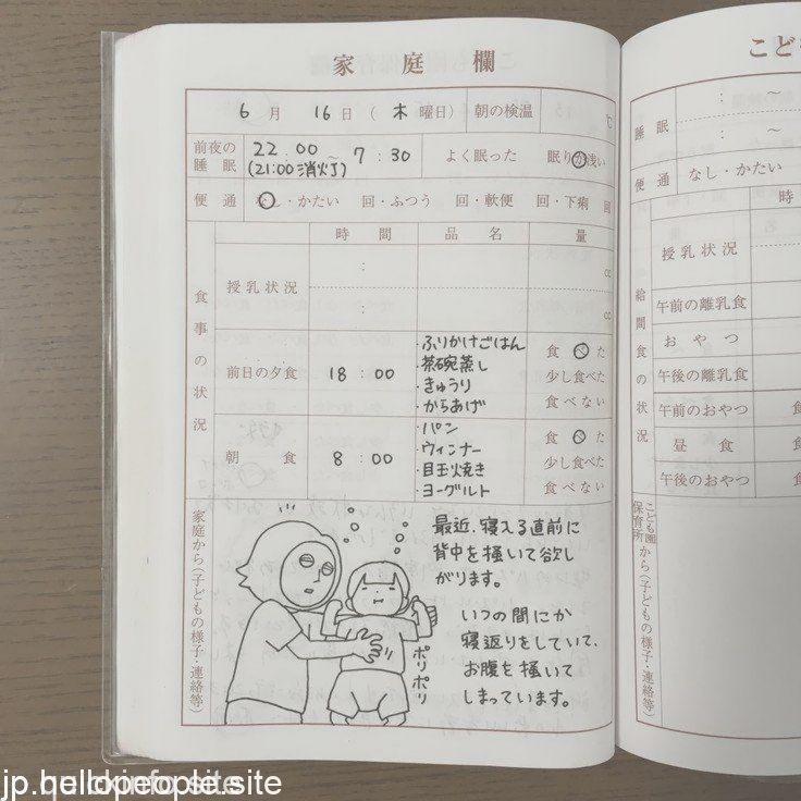 今日も元気です で終わらせない 日本一有名な 保 In 2020 Bullet Journal Kids Health Handmade