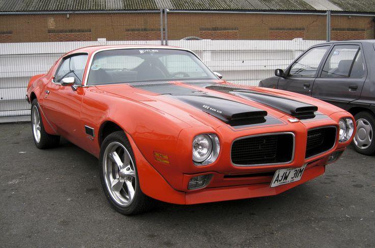 '71 Pontiac Firebird Formula