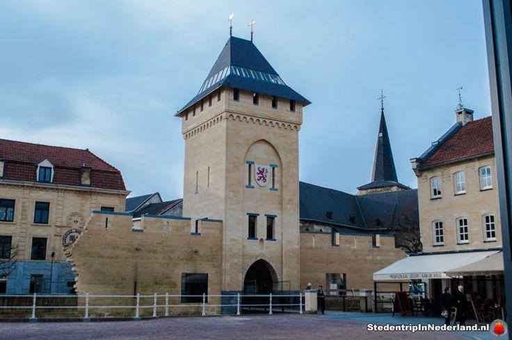 Herbouwde Geulpoort in Valkenburg (replica 2014)