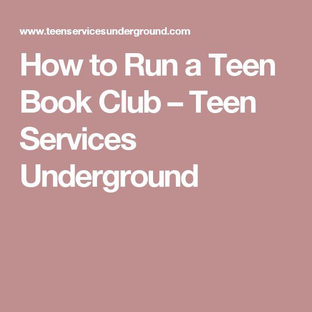 Teenclub book