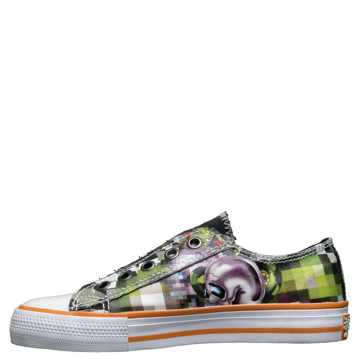 Ed Hardy Lowrise Oz Sneakers for Kids - Camo - Yvonne's #shoes