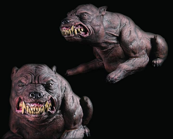 mad dog scary halloween prop halloween hauntedhouse - Scary Halloween Decorations Props