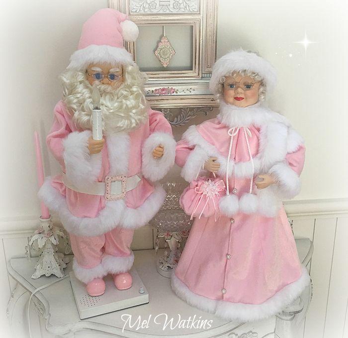 91 best Pink Santa - Mr & Mrs Claus in Pink! images on Pinterest ...