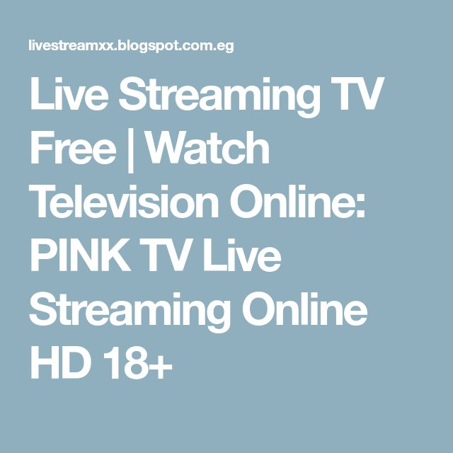 Live Streaming TV Free | Watch Television Online: PINK TV Live Streaming Online HD 18+