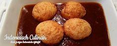 Telor Bumbu Bali - Gefrituurde eieren in een pittige ketjapsaus - Fried eggs in a spicy soy sauce
