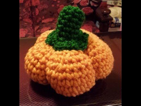 Zucca all'uncinetto - Halloween amigurumi - Tutorial crochet