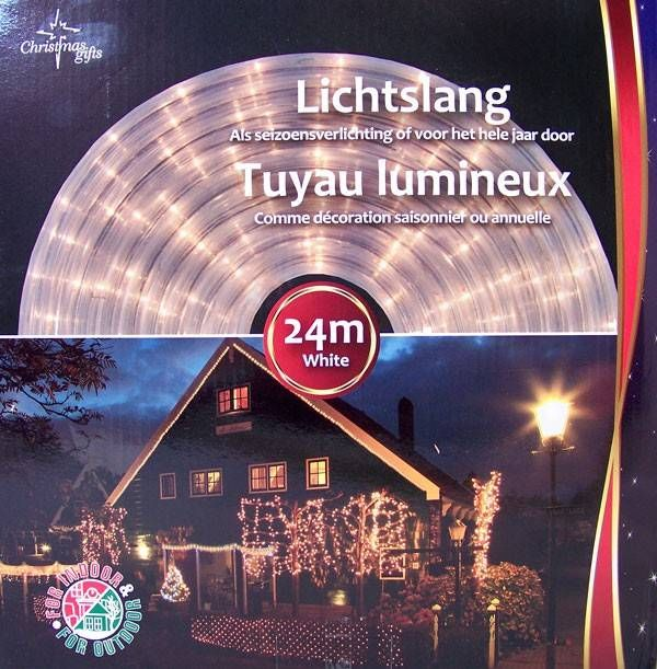 Lichtslang Wit (24M) #kerstverlichting #lichtslang