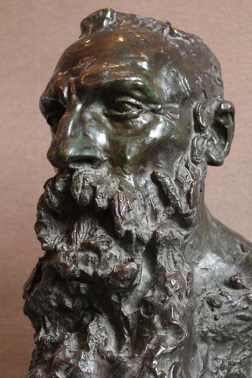 Buste de Rodin par Camille Claudel. 1888.