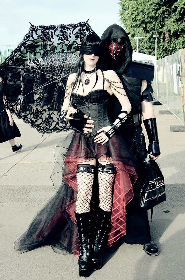 Wave-Gotik-Treffen in Leipzig 2014 - couple by Serena1791