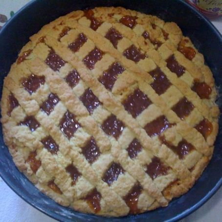 Crostata morbida alla marmellata di albicocche