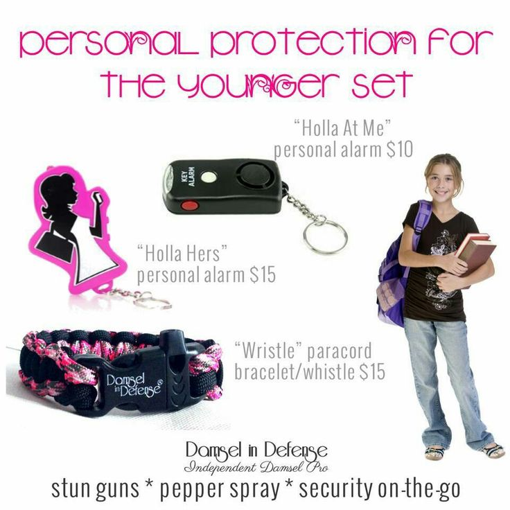 DAMSEL IN DEFENSE offers non lethal self defense products designed with a woman in mind. Our guns, pepper sprays, and security-on-the-go products are affordable AND adorable!!   DAMSEL IN DEFENSE has the products you need at a price you can afford to help keep you and your loved ones Safe and Sassy! http://www.mydamselpro.net/pro7449