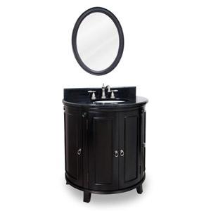 Jeffrey Alexander Demi Lune Single Bathroom Vanity With Optional Mirror    Donu0027t Be A Loon, Bring The Lyn Design Demi Lune Espresso Single Bathroom  Vanity ...