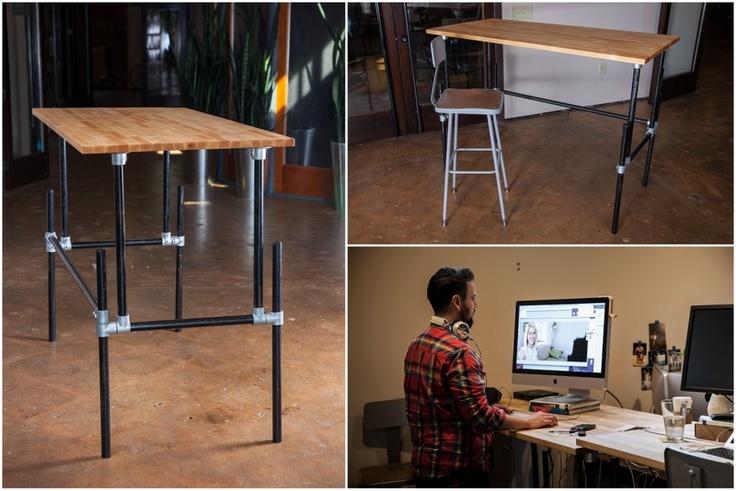 Les 107 meilleures images du tableau standing desks sur for Ikea assis stand bureau canada