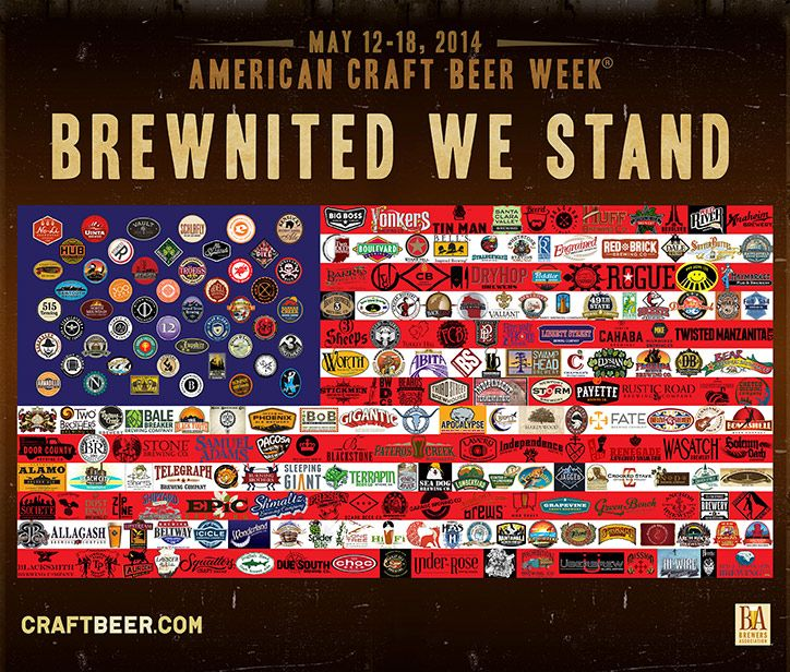 Brewnited We Stand - American Craft Beer Week!