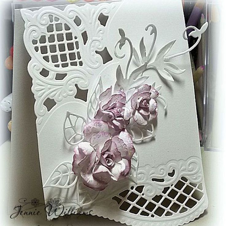 how to cut paper flower