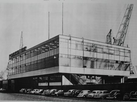 Müller-Thomsen Building (1956-61) in Rotterdam, the Netherlands, by Hugh Maaskant