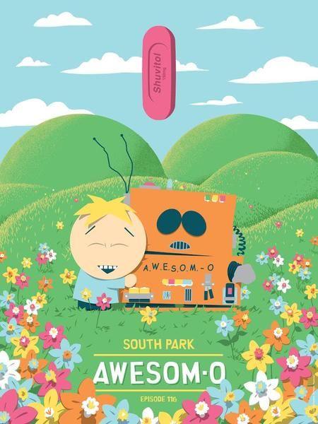 Awesom-O by Florey