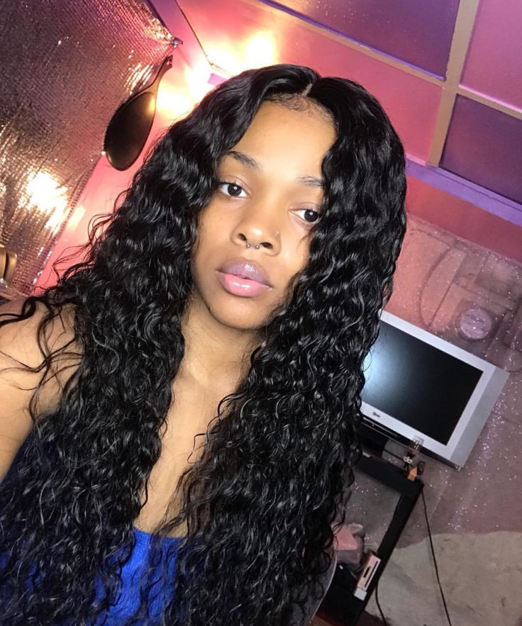 @Hair,Nails,And Style The Rest are FRAUDS HNS is where It's All At . . Water Wave Hair By : EssenceHairClub Y'all Shop With Them