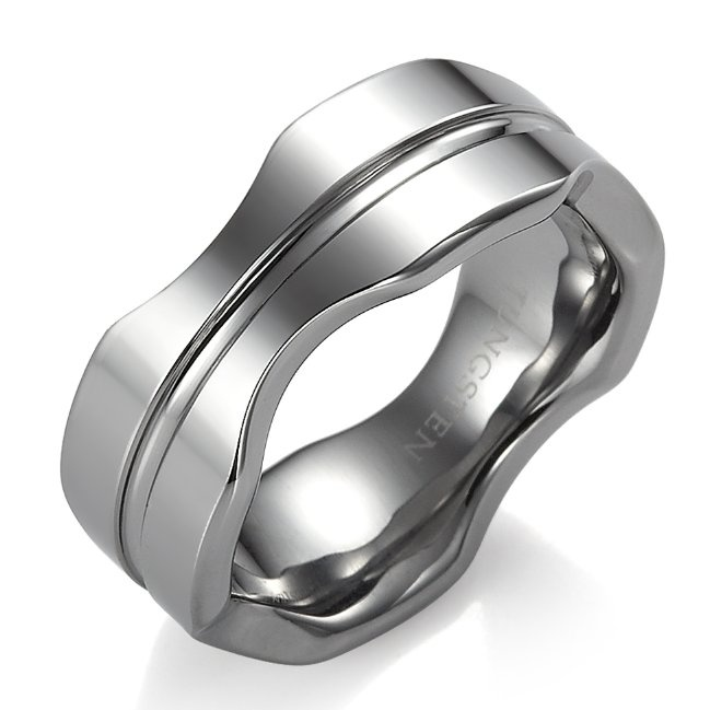 unique rnb modern perfection tungsten band wedding ring 8mm rnbjewellery
