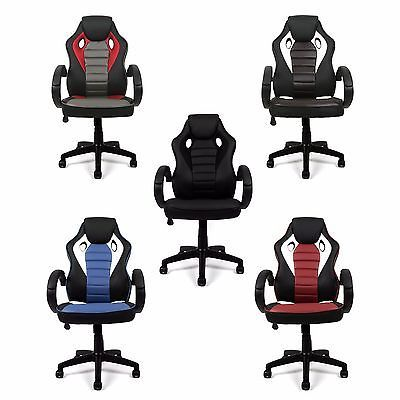 ESTEXO® Bürostuhl Kunstleder Chefsessel Schreibtischstuhl Bürosessel Stuhl