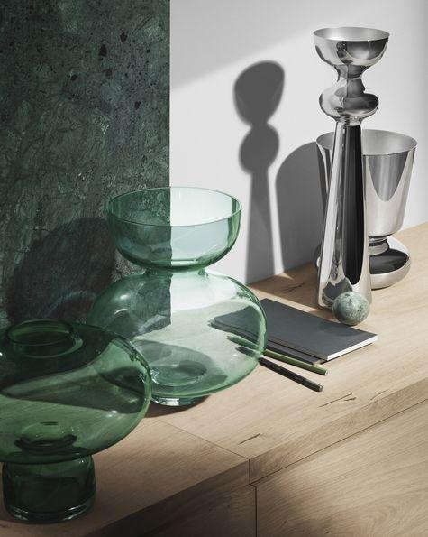 Alfredo vases by Alfredo Haberli for Georg Jensen http://www.skandium.com/catalogsearch/result/?q=alfredo