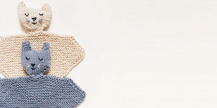 Des patrons pour tricoter un doudou