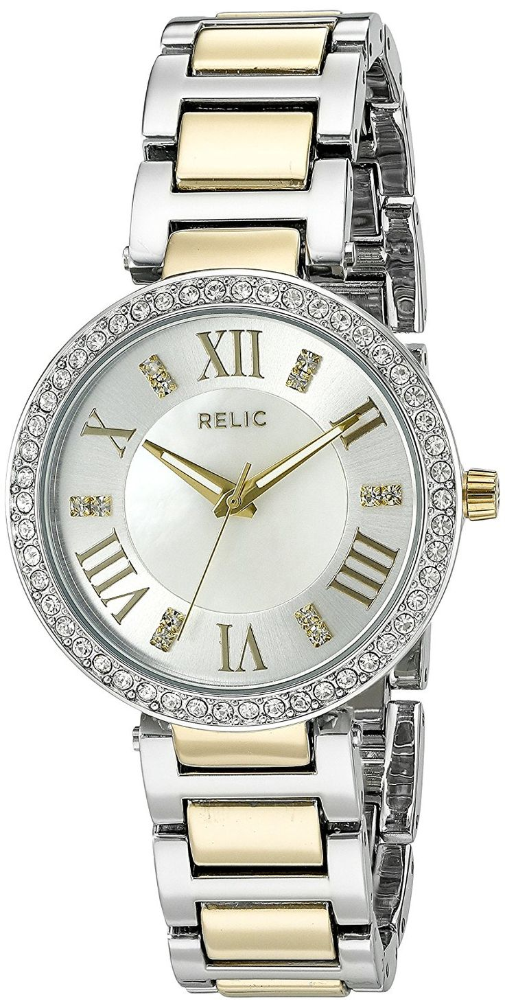 Relic Women's 'Isabelle' Quartz Two Tone Casual Watch (Model: ZR34360) ** Continue to the watch at the image link.