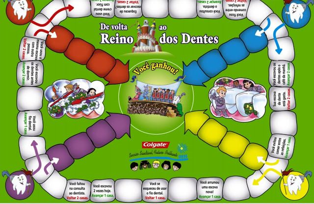 Ideia Criativa Gi Barbosa Educacao Infantil Jogo De Tabuleiro Higiene Bucal Jogos De Tabuleiro Higiene Bucal Jogos