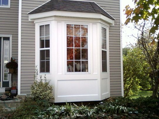 bay window trim