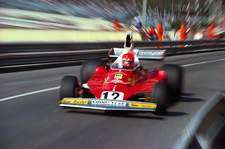 Niki Lauda, Ferrari 312T, 1975 Monaco GP, Monte Carlo