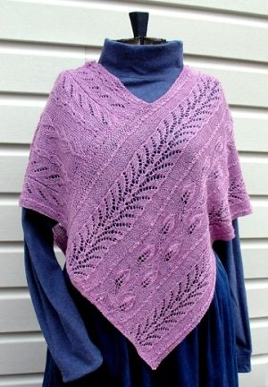 KNITTING MACHINE PONCHO PATTERN – BIG PATTERN COLLECTION