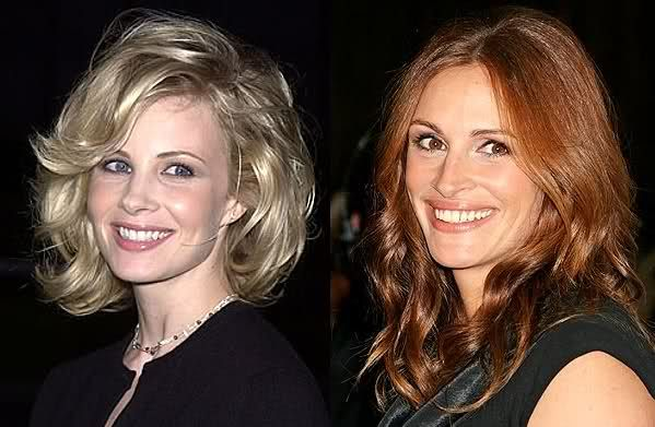 Monica Potter and julia roberts