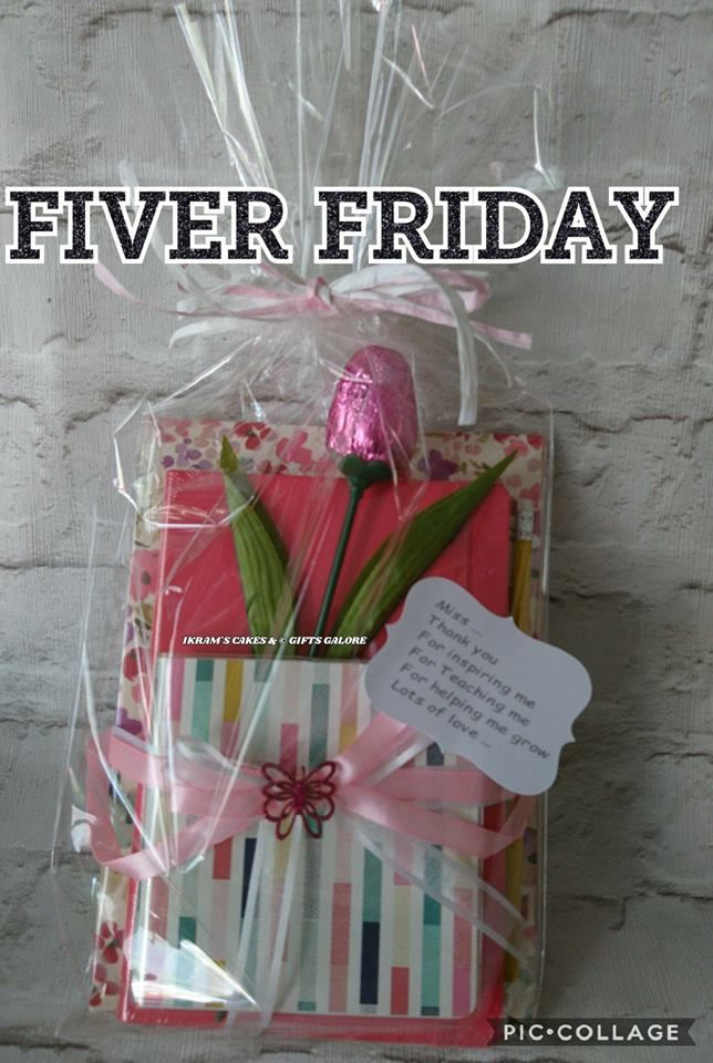 💖 FIVER FRIDAY💖 A Personalised cute Stationary Gift Set perfect as birthday present, thank you, a little treat for someone or just because... For more details please visit my Facebook page Thank you