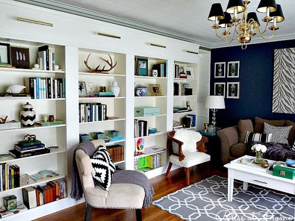 Eye Candy: 20 Well-Styled Bookshelves | Southern State of Mind