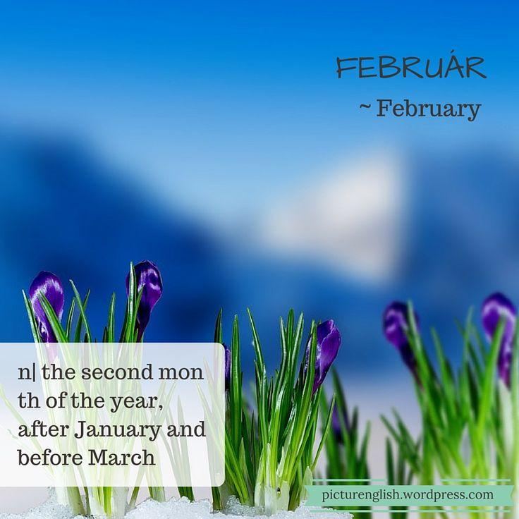 February / Február