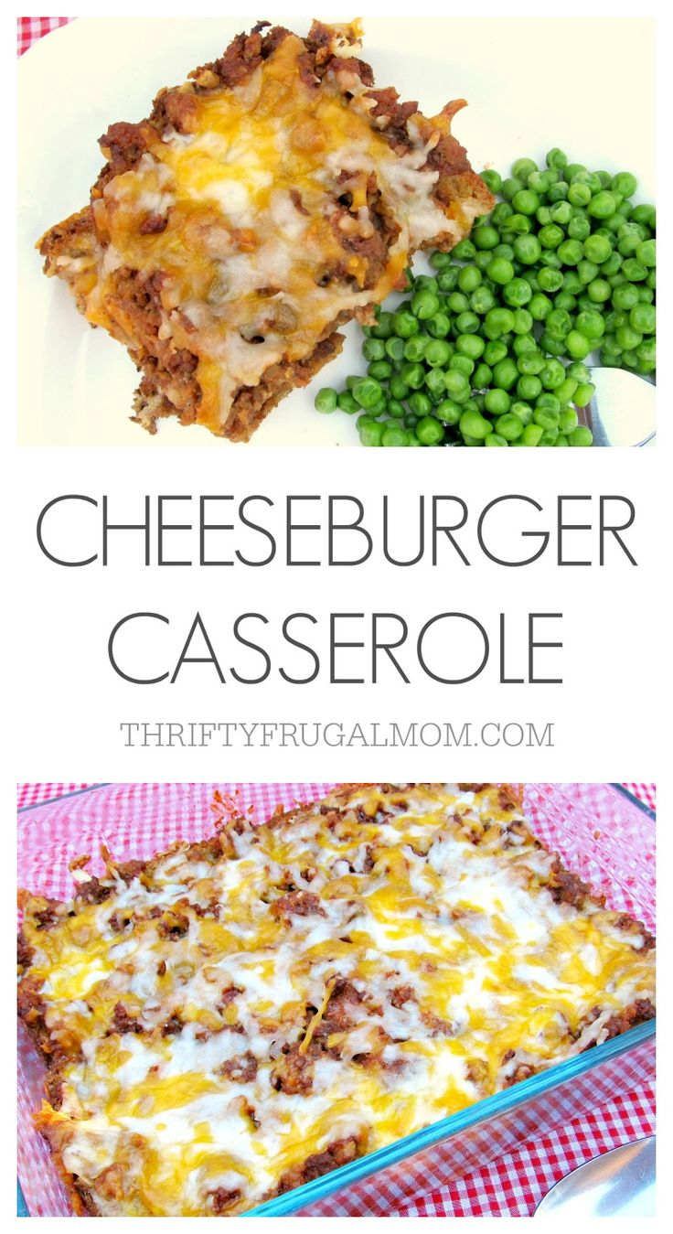 All the delicious flavors of a cheeseburger rolled into one frugal, easy recipe. A hit with the whole family!
