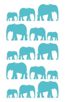 Elephant Tea Towel from Plum Chutney